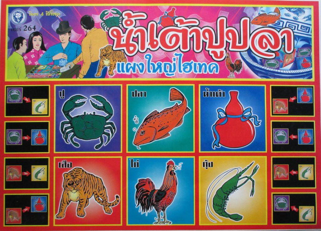 น้ำเต้า ปู ปลา