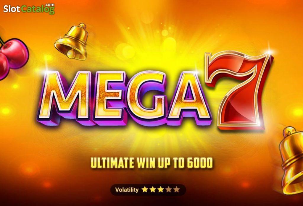 เกมSlot Mega 7 เล่นง่ายๆใน 5 นาที จากค่าย Spadegaming ที่มาแรงในตอนนี้