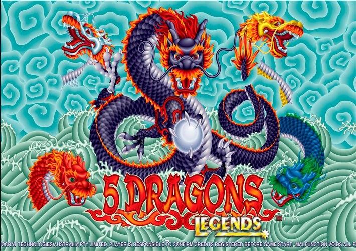 เกม 5 Dragons เจาะลึกตำนานมหาเทพมังกรแห่งโชคลาภทั้ง 5 กับเกม